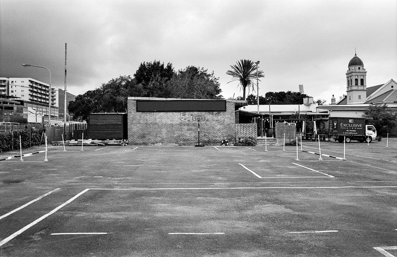 Driving school yard, Claremont, 2014.