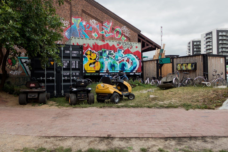Celebrating Midsummer at Godsbanen in Aarhus, Denmark