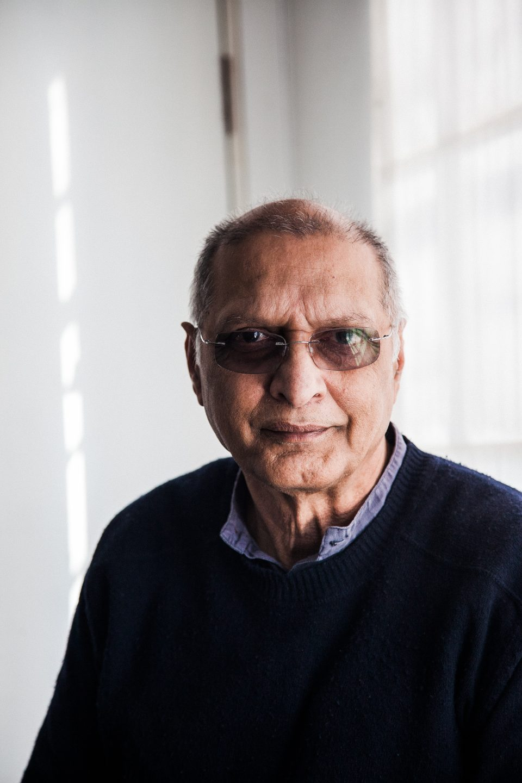 Portrait of Omar Badsha